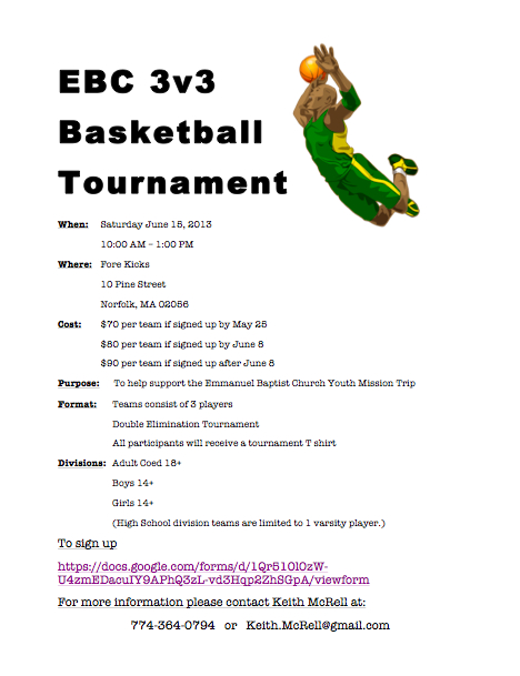 EBC 3on3 Tournament