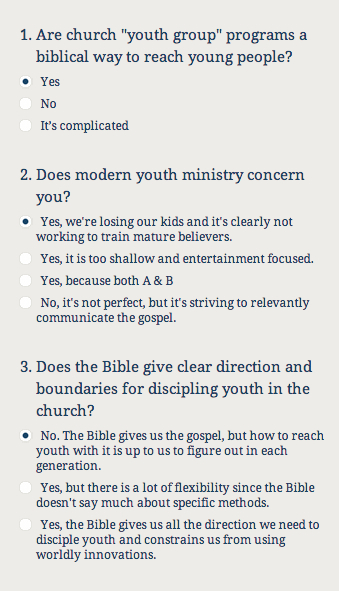 """Intergenerational Youth Ministry & """"Is 'Youth Group' Even Biblical ..."""