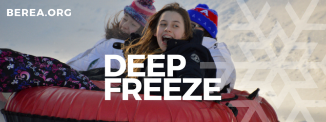 Deep Freeze Banner